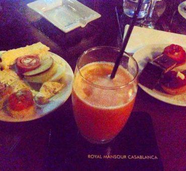 Soirée dégustation au Bar Diplomate du Royal Mansour