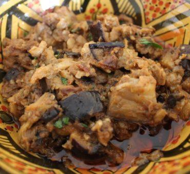 Zaalouk (caviar d'aubergines à la marocaine)