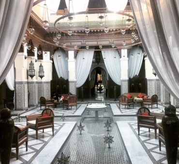 Tea time au Royal Mansour – Marrakech