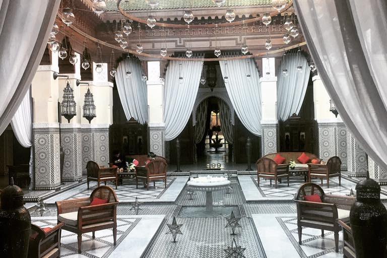 Tea time au Royal Mansour – Marrakech