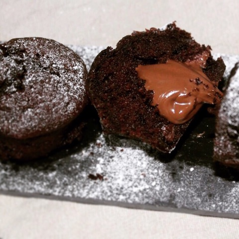 Muffins Choco-Nutella®