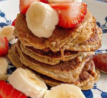 Healthy pancakes à l'avoine